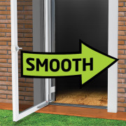 New Smooth Technology - Advanced iso-kinetic technology takes the unwanted bounce out of your closing door! No more slams to the back. No more cut heels. Just a smooth, predictable close.
